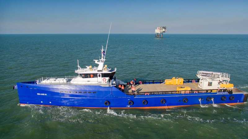 Ampelmann and Damen team up